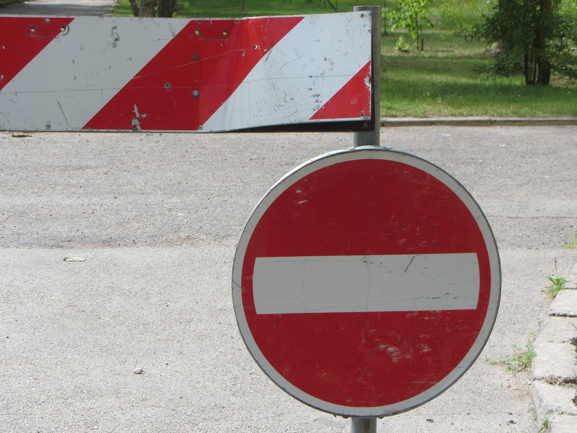 """Kuģa """"Saratov"""" sagaidīšanas laikā noteikti satiksmes ierobežojumi"""