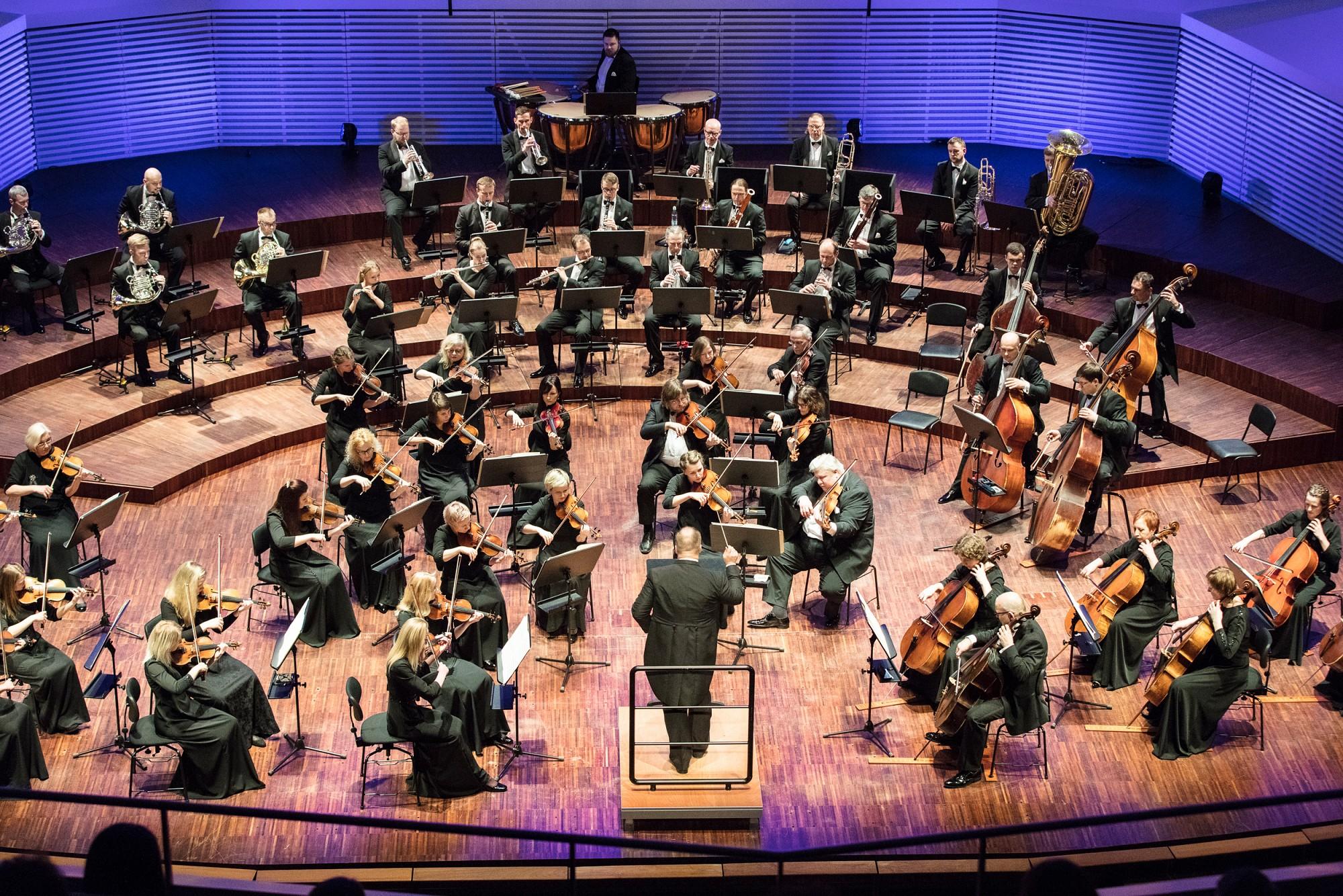 Ieraksta simfoniskos šedevrus