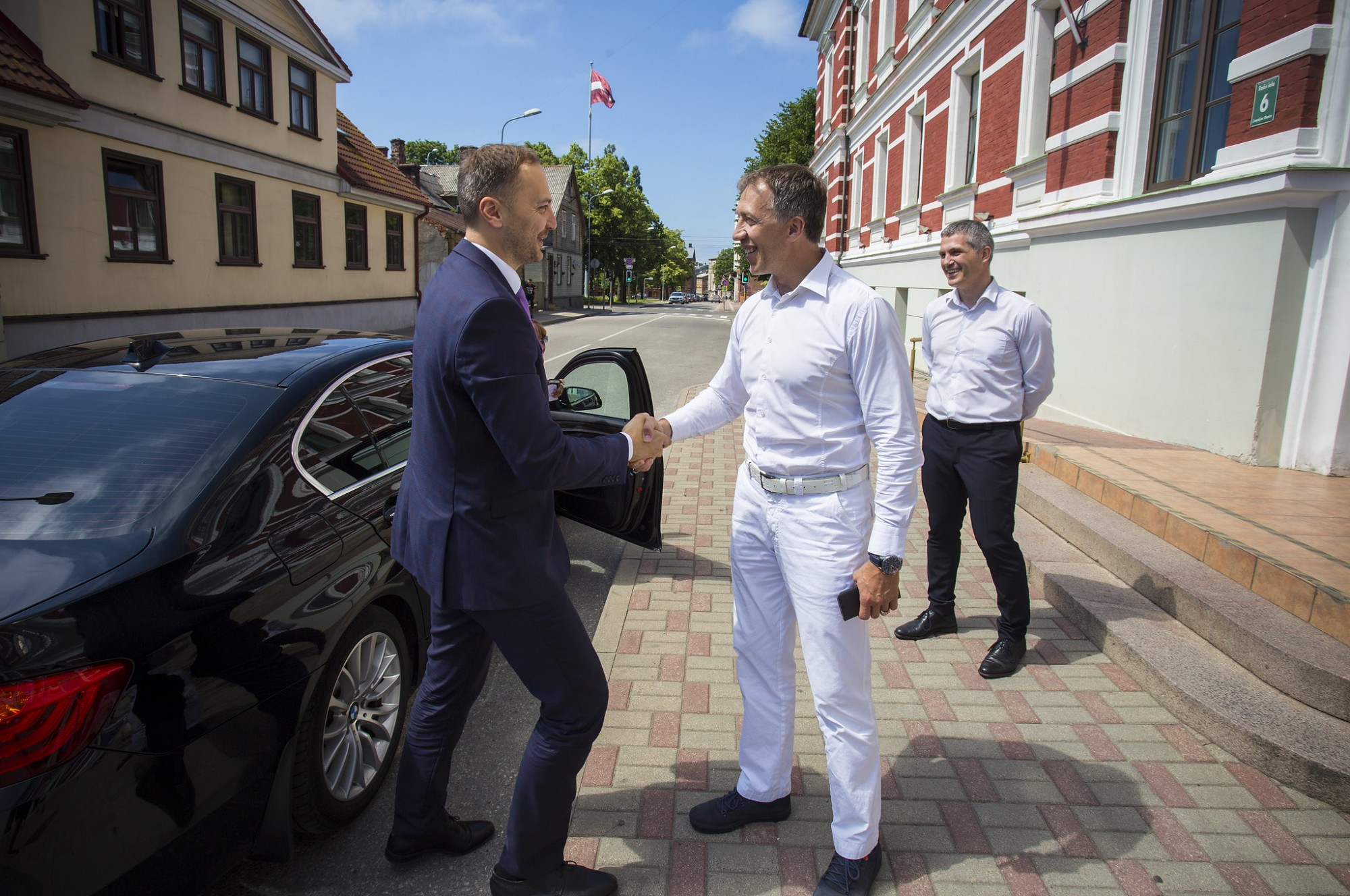 Liepāju darba vizītē apmeklē iekšlietu ministrs Sandis Ģirģens