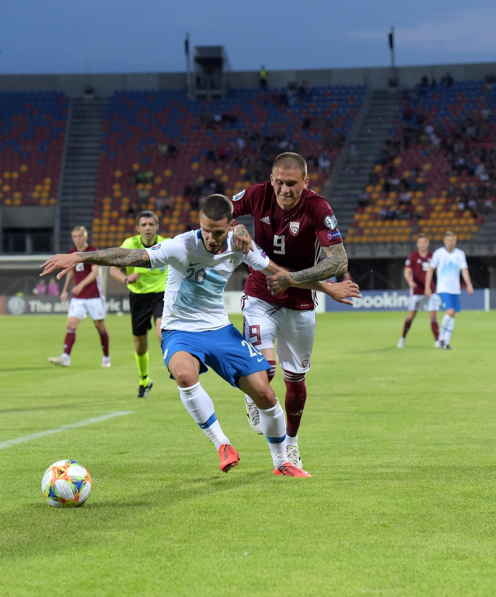 Latvijas futbola posts – 0:5