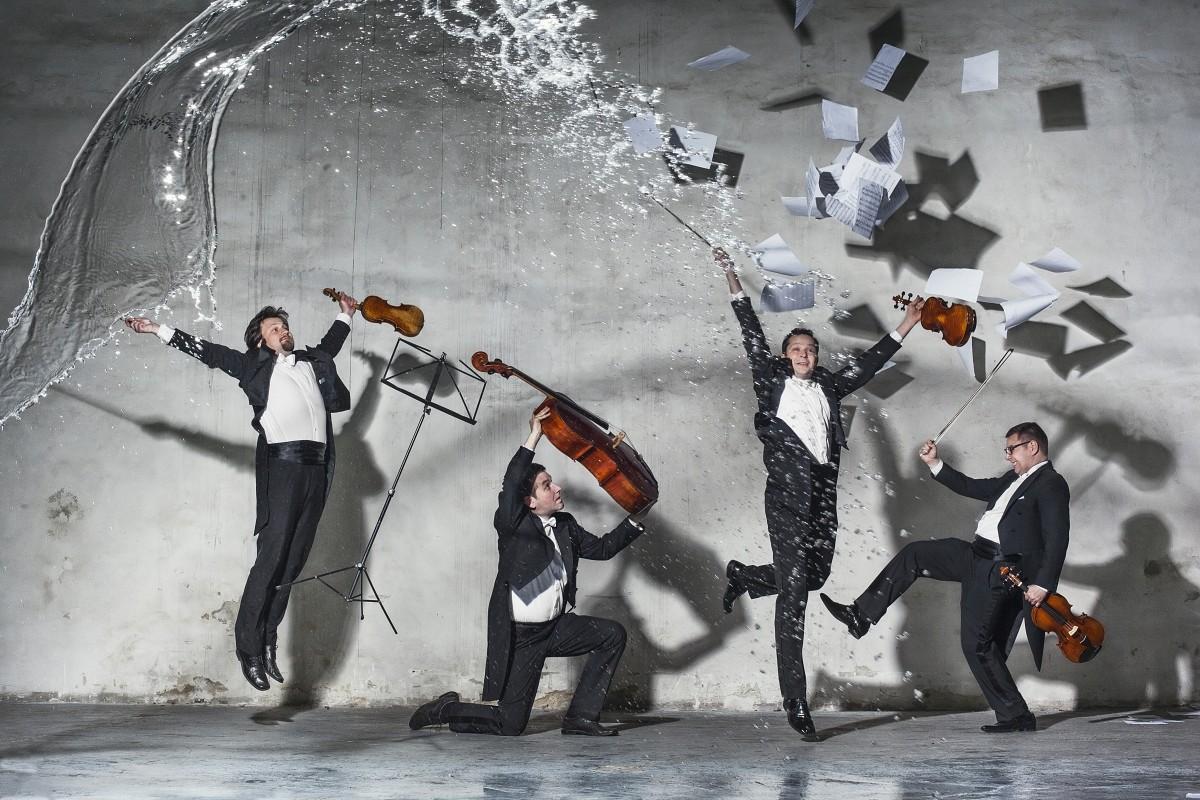 Kur aiziet: Vilina stīgu kvartets un mūzika uz ūdens