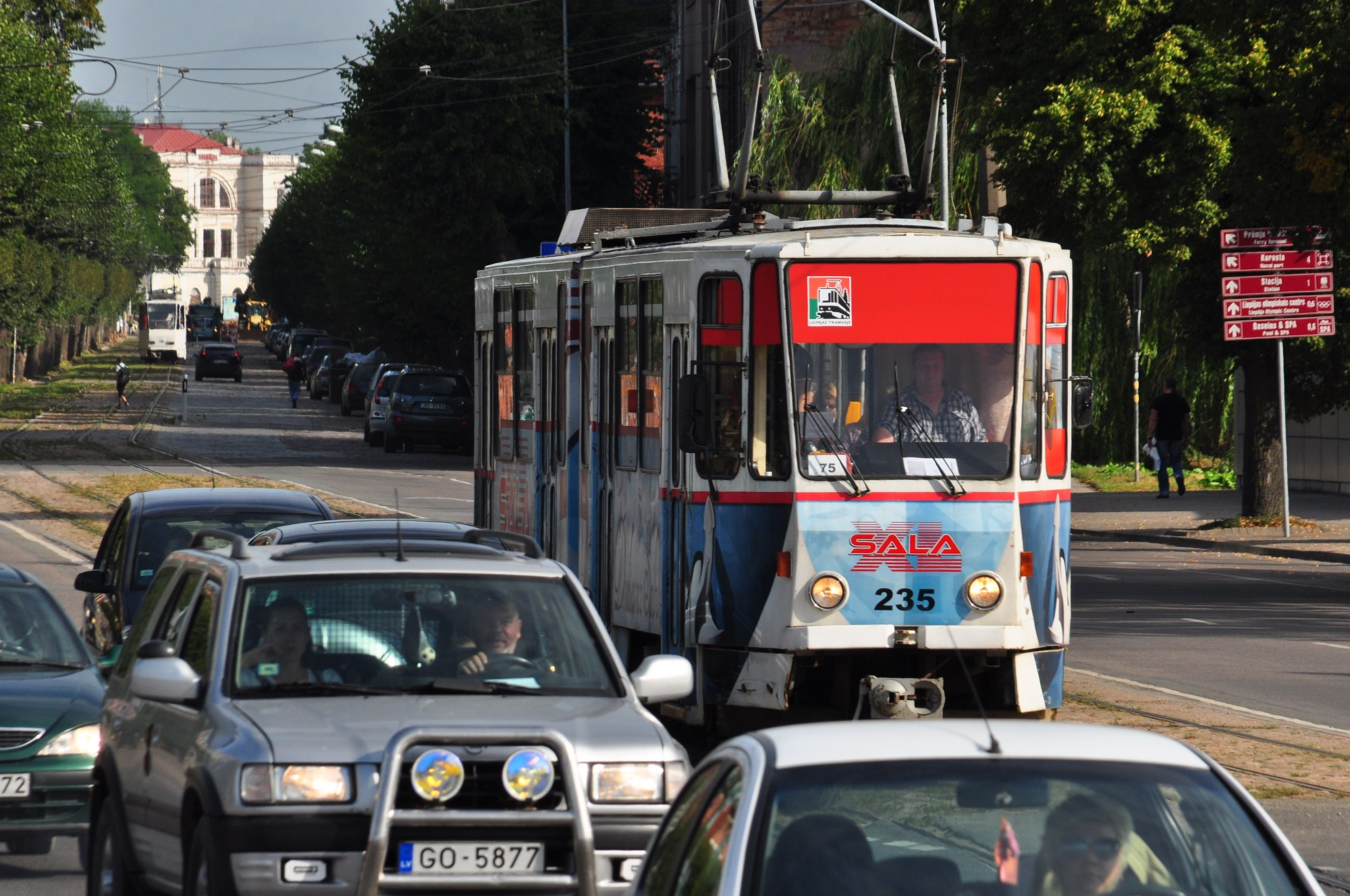 Liepājā ar tramvajiem pārvadāto pasažieru skaits pieaudzis par 5,8%