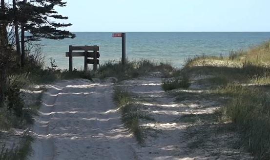 Bernātu pludmalē izveidos skatu platformu