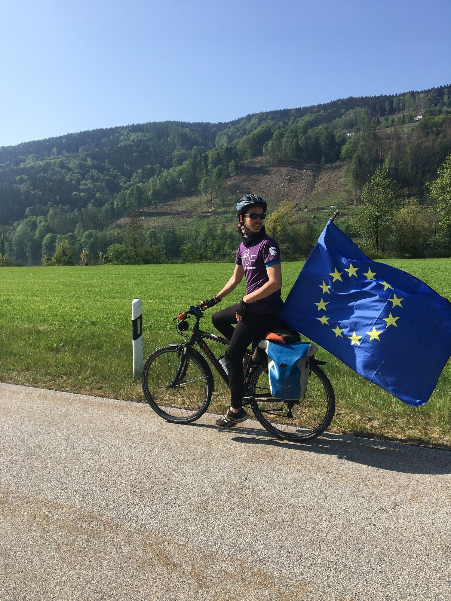 1400 kilometrus garš vēstījums Eiropai