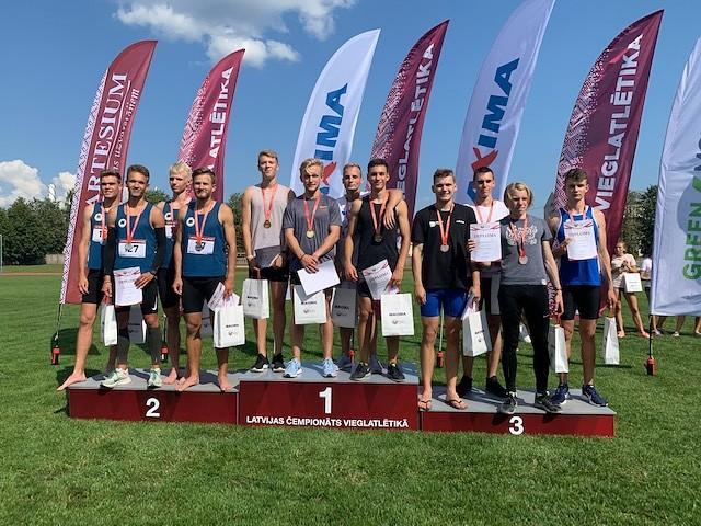 Labots Liepājas rekords 4×400 metru stafetē vīriešiem