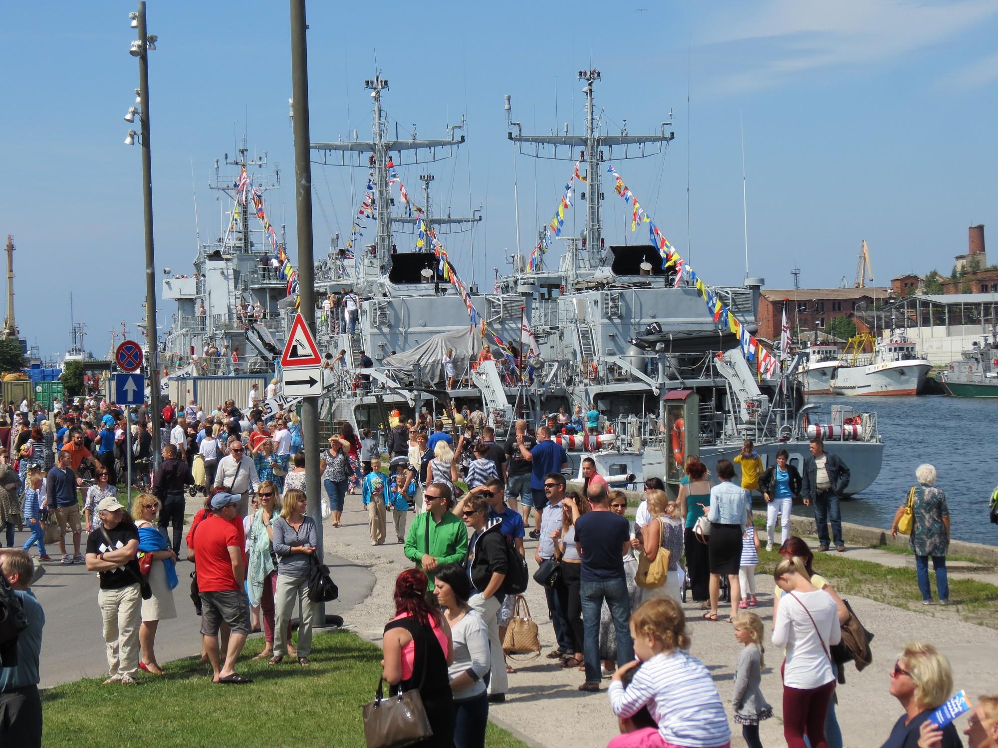 Jūras svētkos gaidāma laivu un kuģu parāde