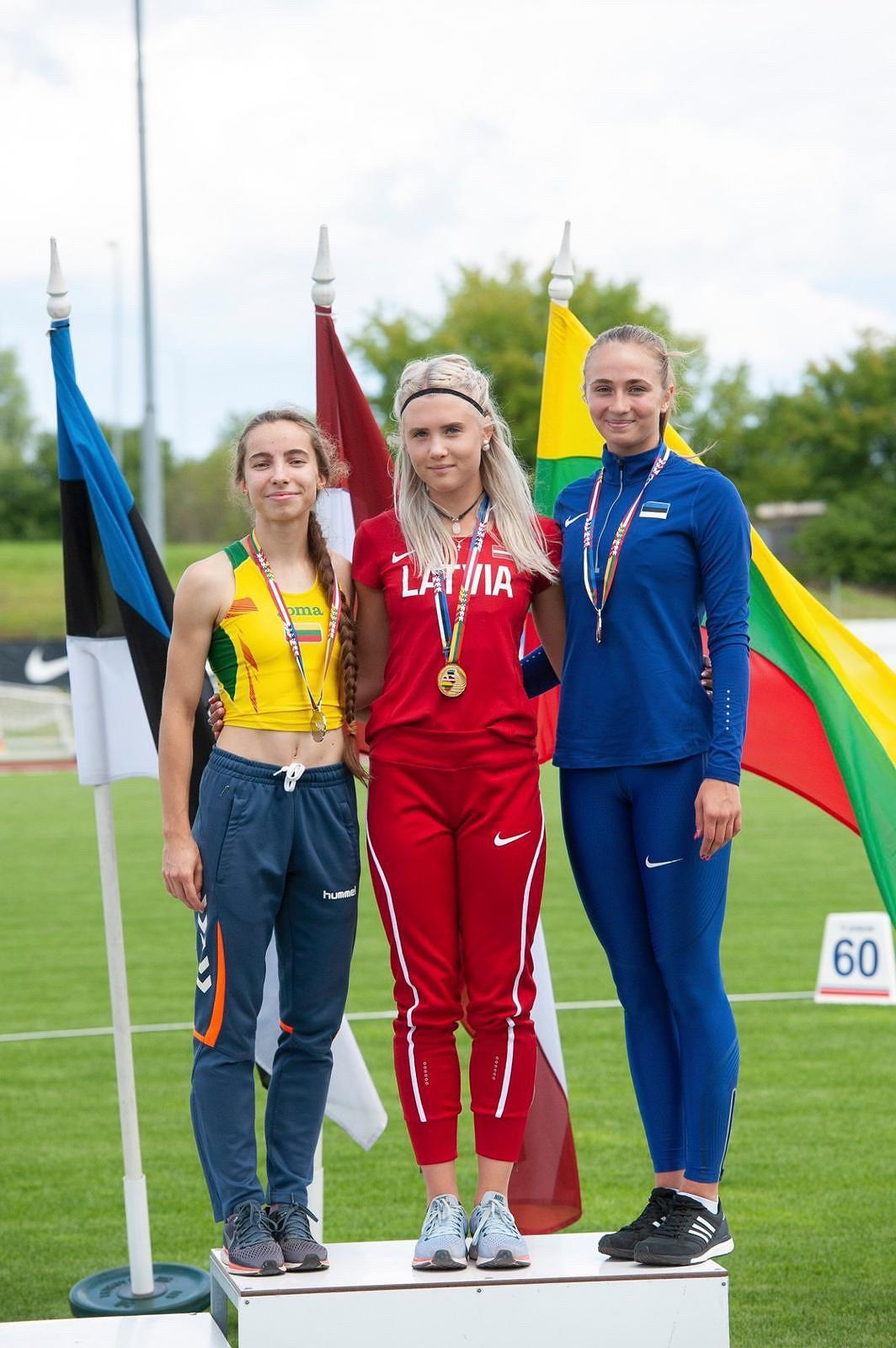 Noslēgušies Baltijas valstu čempionāti vieglatlētikā