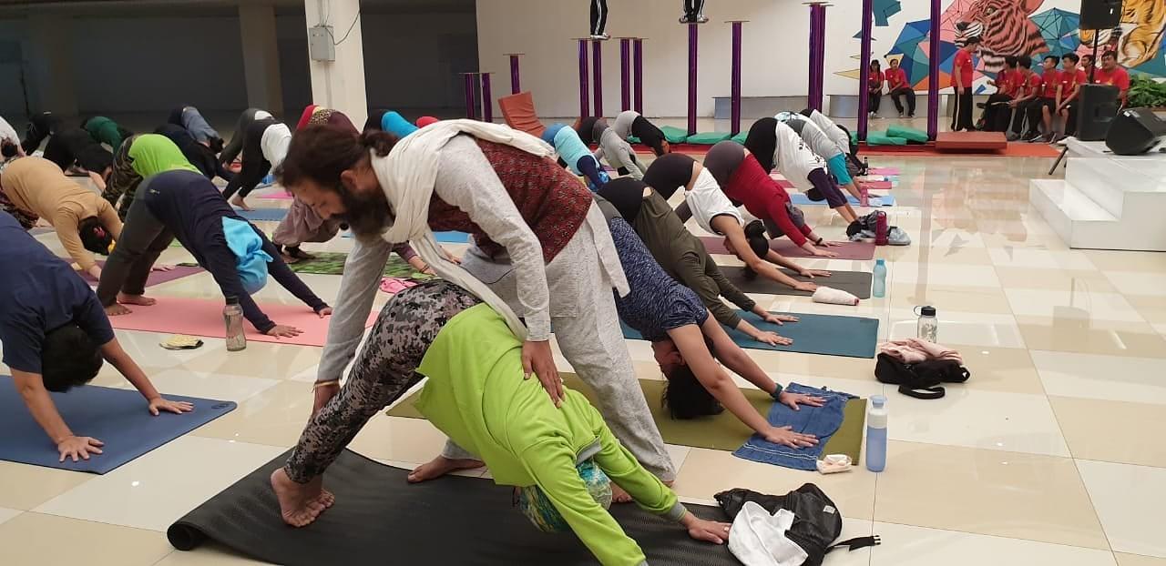 """""""Jauniešu mājā"""" notiks jogas nodarbība ar skolotāju no Indijas"""