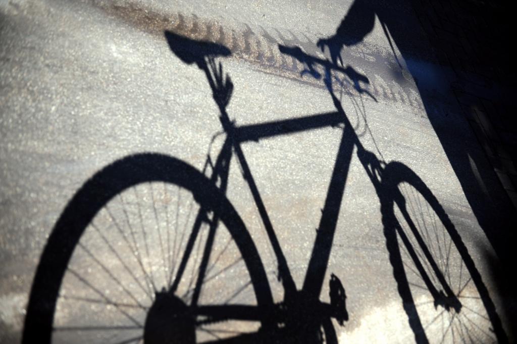 Notriekts kārtējais riteņbraucējs