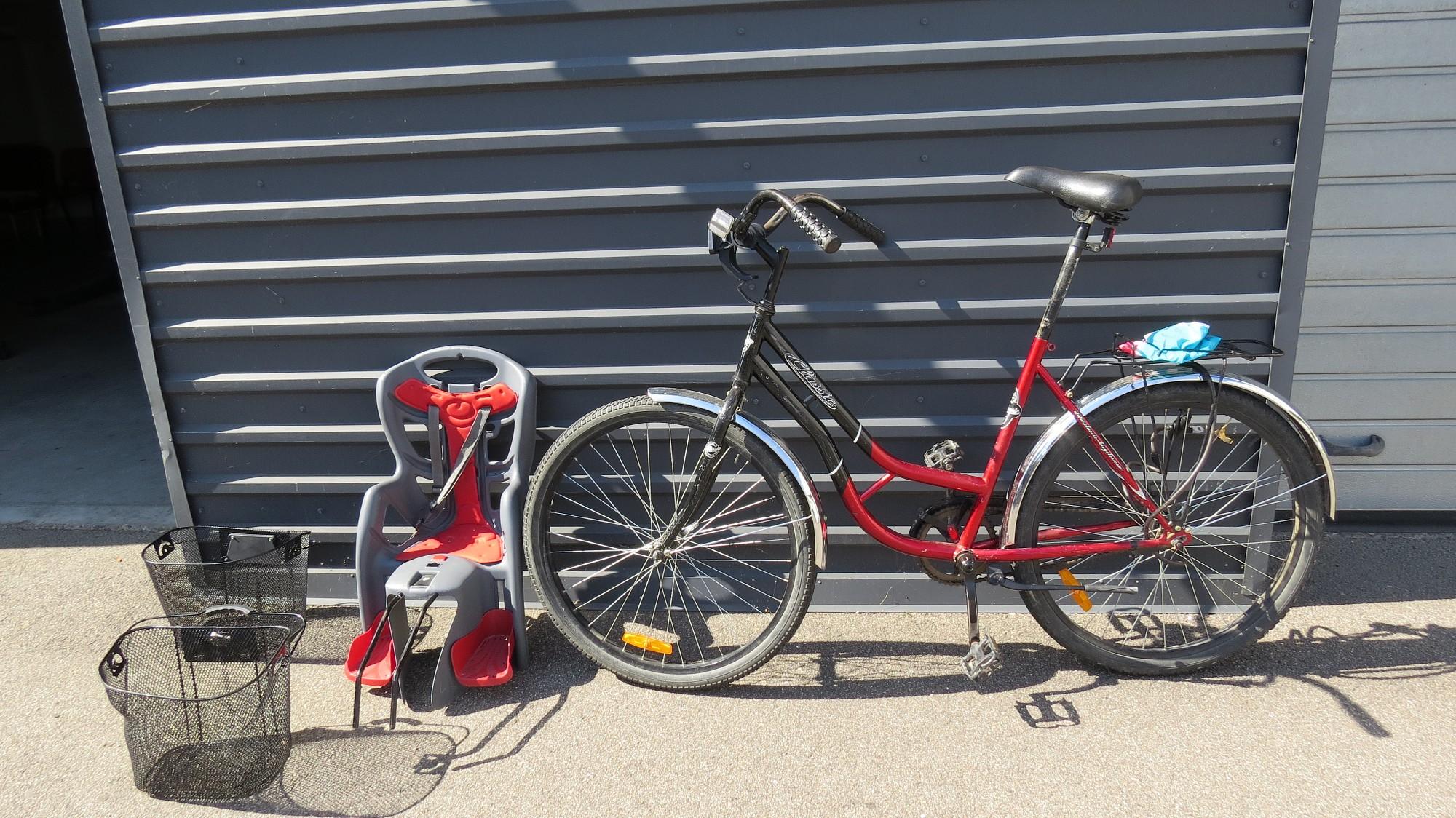 Valsts policija meklē atrasto velosipēdu īpašniekus