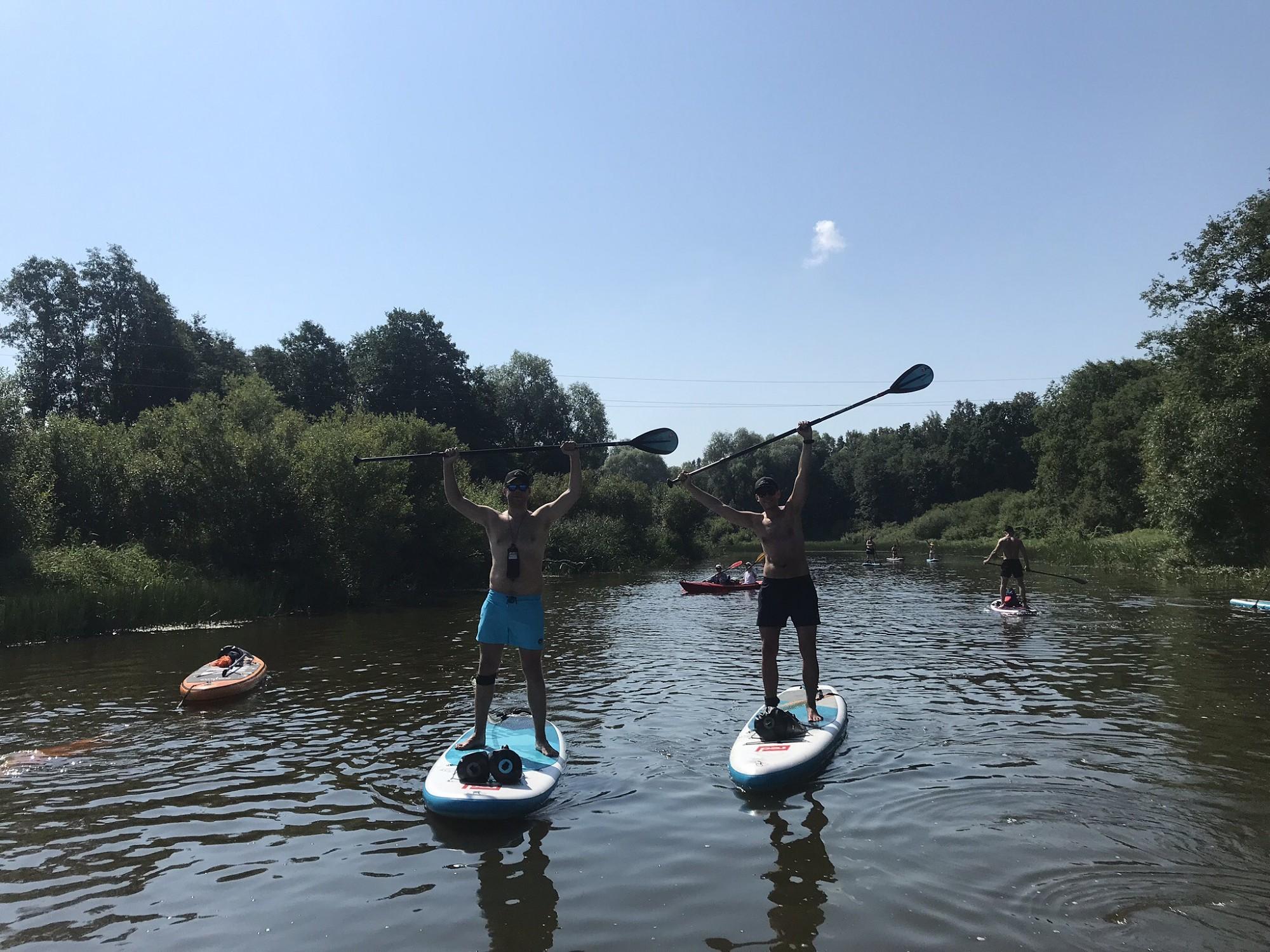 Ar SUP dēļiem dosies ekspedīcijā pa Bārtas upi