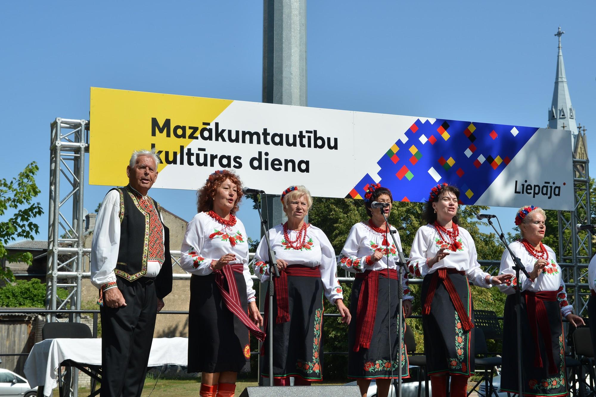 Liepājā pirmo reizi norisinājās Mazākumtautību kultūras diena