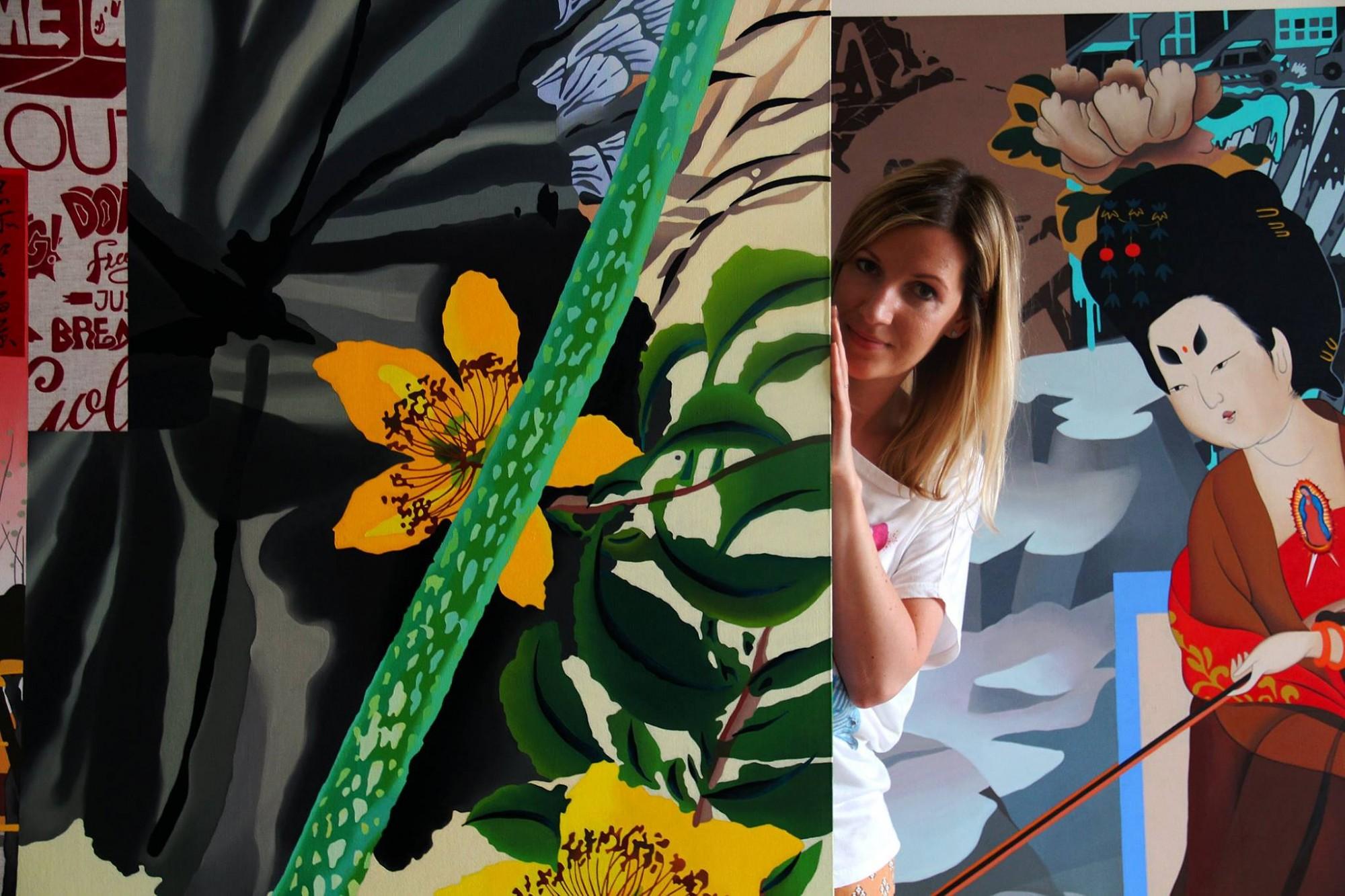 Muzejā atklās mākslinieces Sandras Vingres izstādi