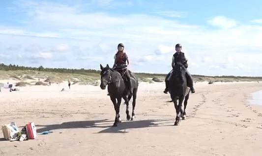 Zirga mugurā plāno veikt teju divus tūkstošus kilometru