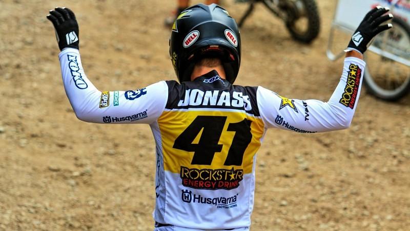 """Jonass: """"Jāstrādā pie fiziskās formas, jo MXGP motocikls prasa daudz vairāk"""""""