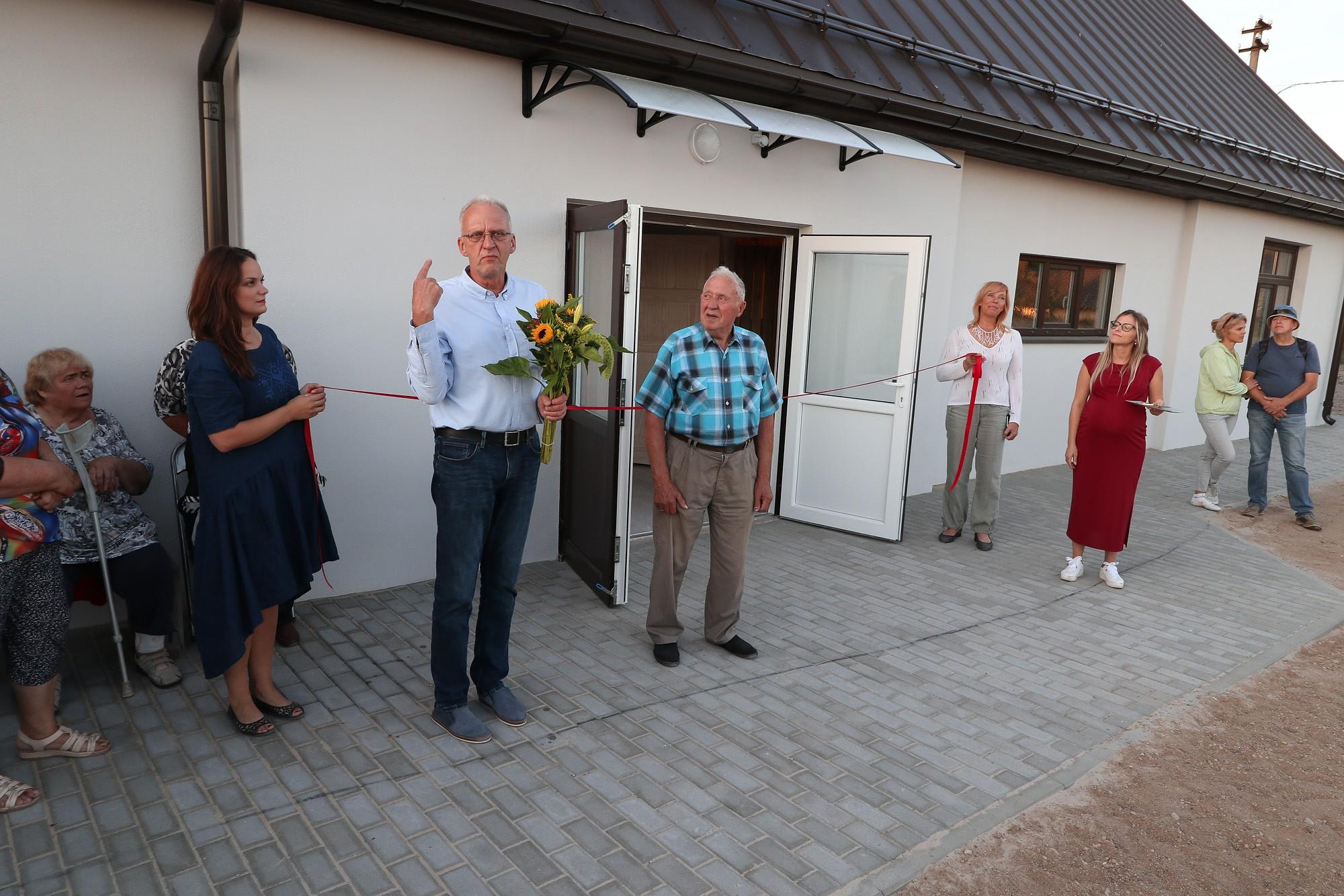 Jūrmalciemā atvērta atjaunotā Tīklu māja