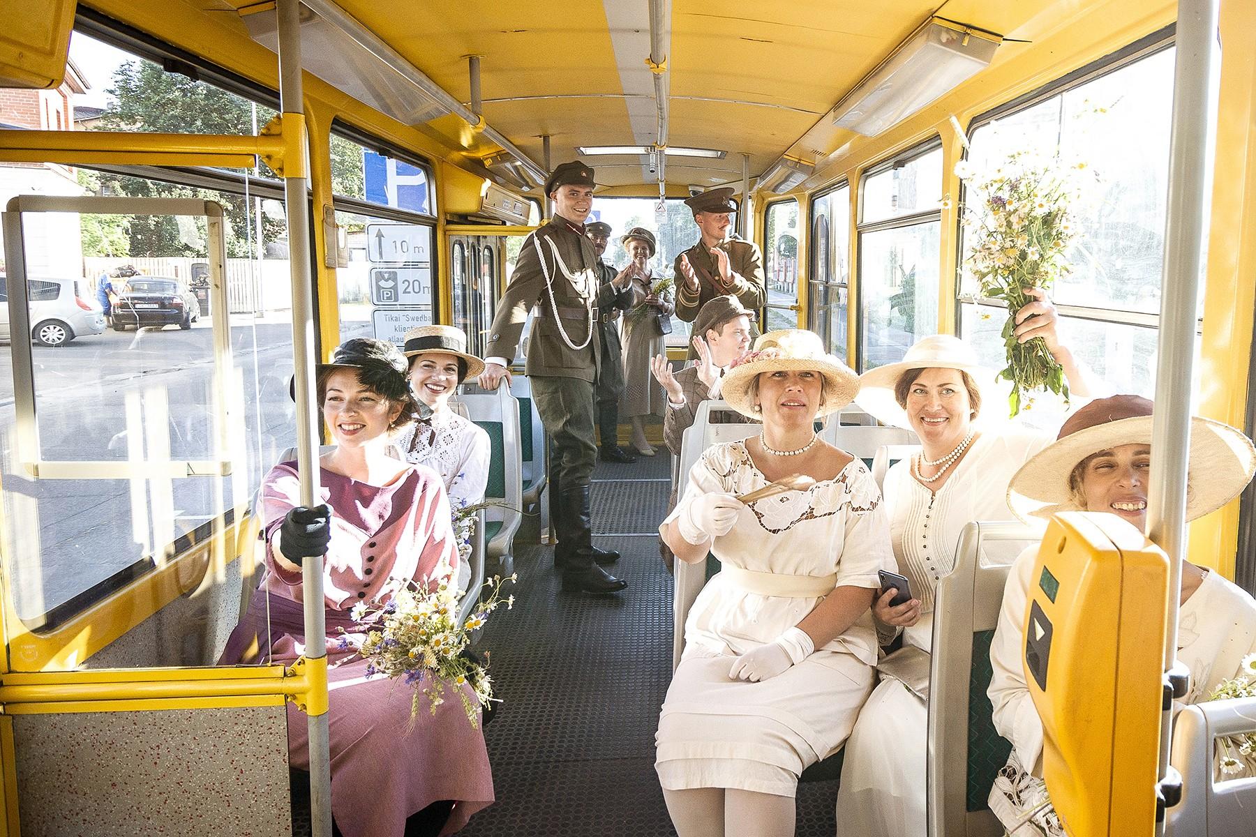 Tapusi fotoizstāde par Liepājas tramvaju