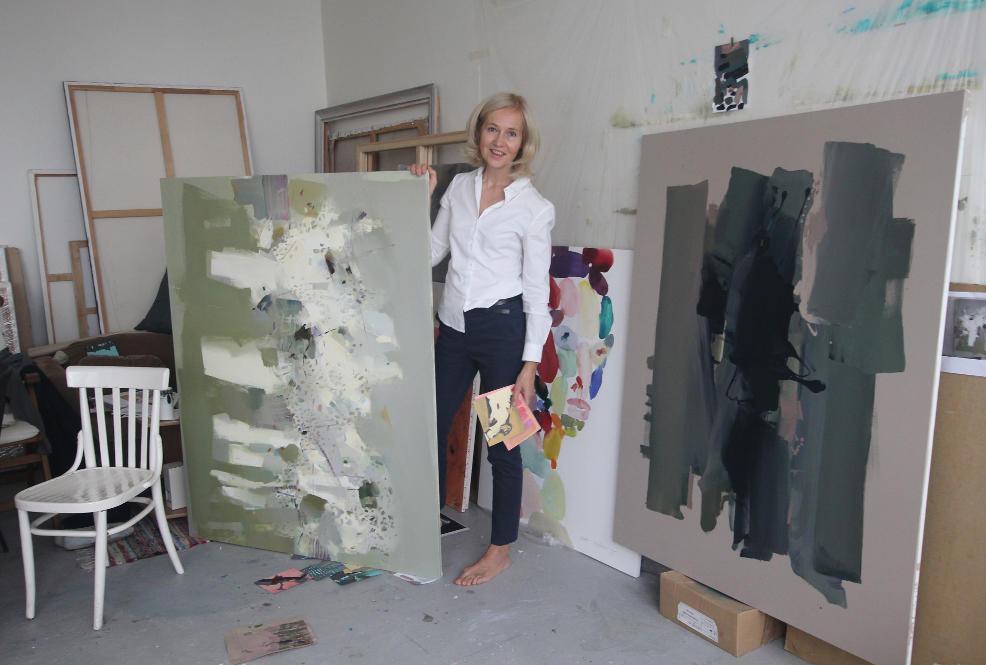 Liepājas muzejā atklās mākslinieces Lindas Stepītes gleznu izstādi