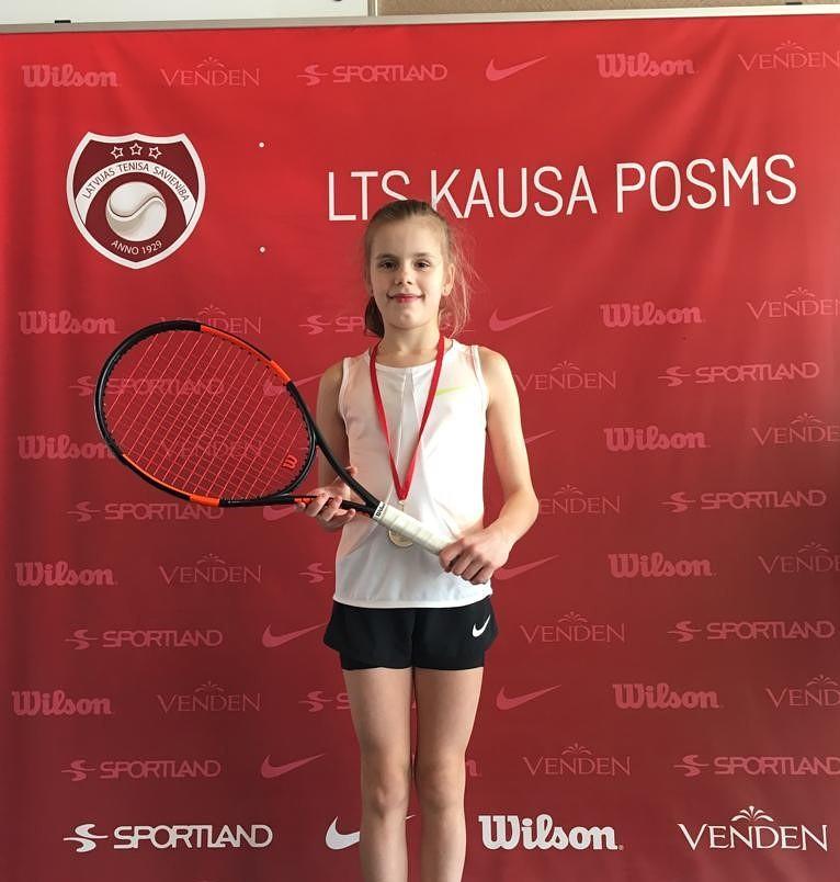 Tenisiste Marija Lauva izcīna 2.vietu
