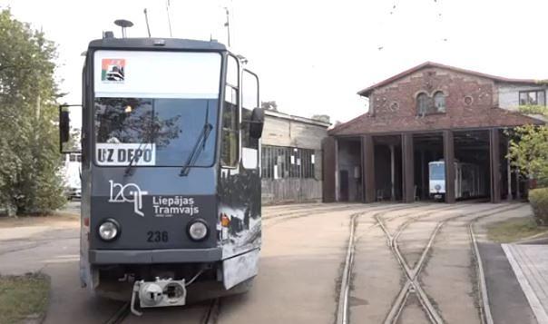 Atzīmē Baltijā vecākā elektriskā tramvaja 120 gadu jubileju