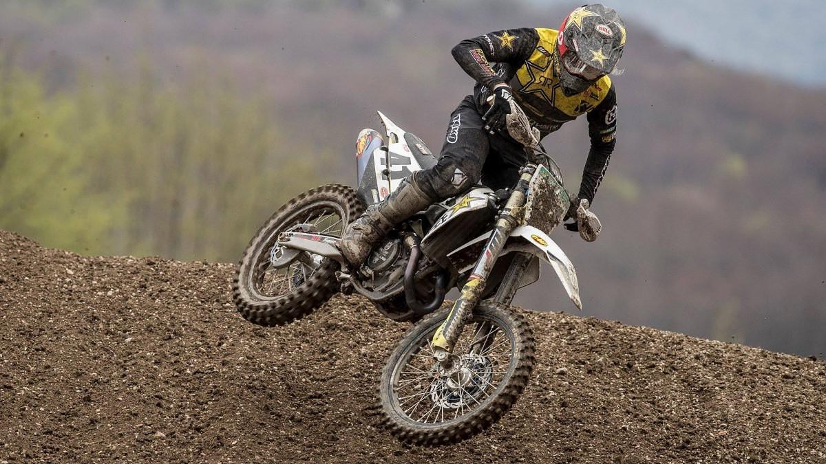 Jonass debijas sezonā MXGP klasē finišē sestais