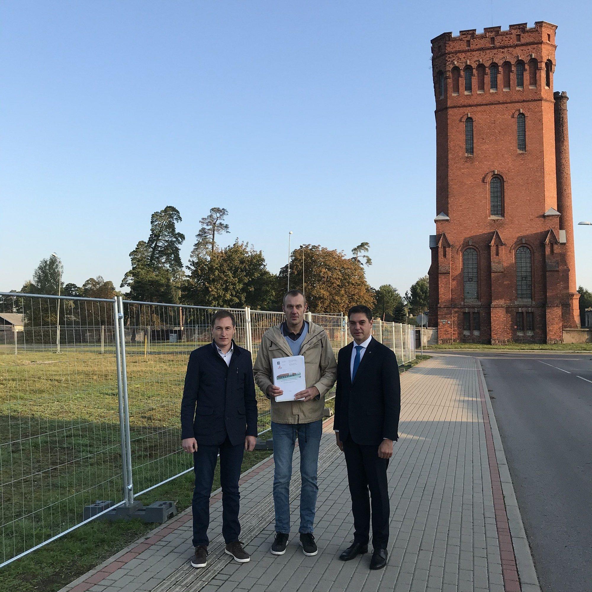 """Tuvāko mēnešu laikā tiks uzsākta uzņēmuma """"Interspiro Production"""" ražošanas ēkas būvniecība Karostā"""