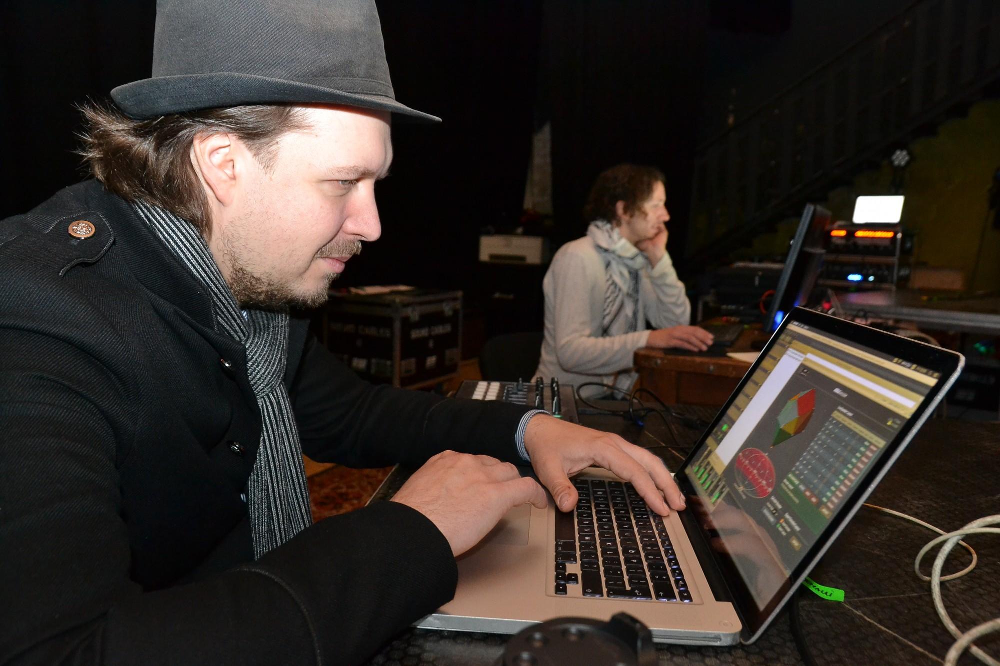 Elektroniskās mūzikas nometnes rezultātā – telpiskās skaņas instalācija
