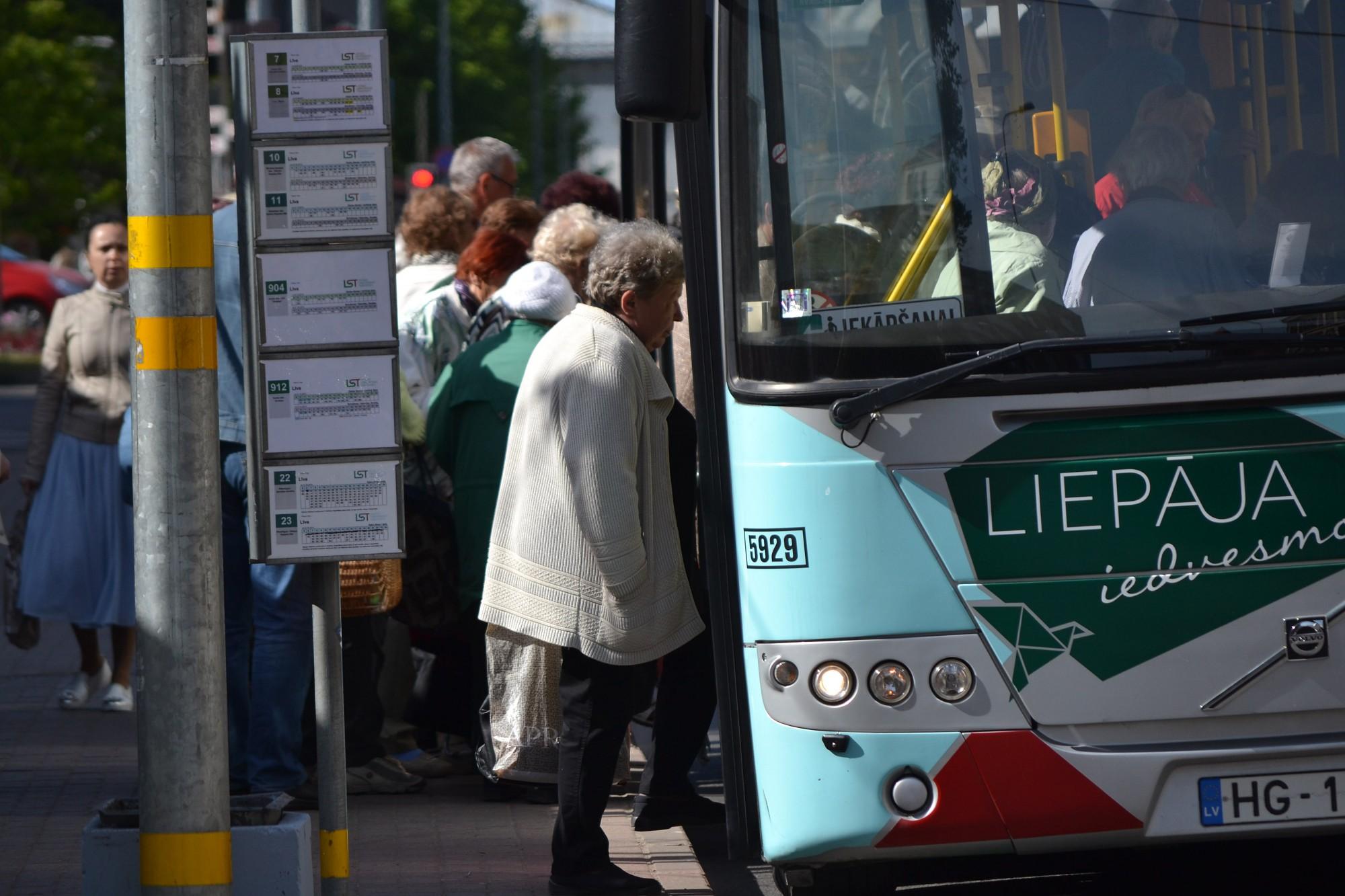 No jaunā gada reisus no Liepājas uz Grobiņu nodrošinās Autotransporta direkcija