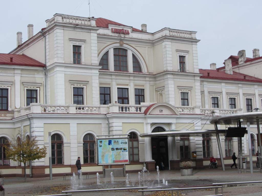 """""""Latvijas dzelzceļš"""" plāno veikt Liepājas dzelzceļa stacijas ēkas jumta kapitālo remontu"""