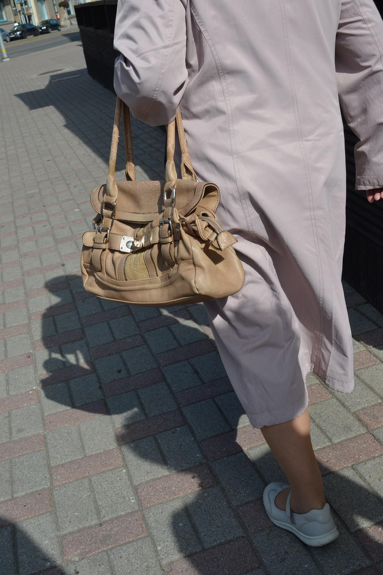 Centrālkapos sievietei nozog rokassomiņu