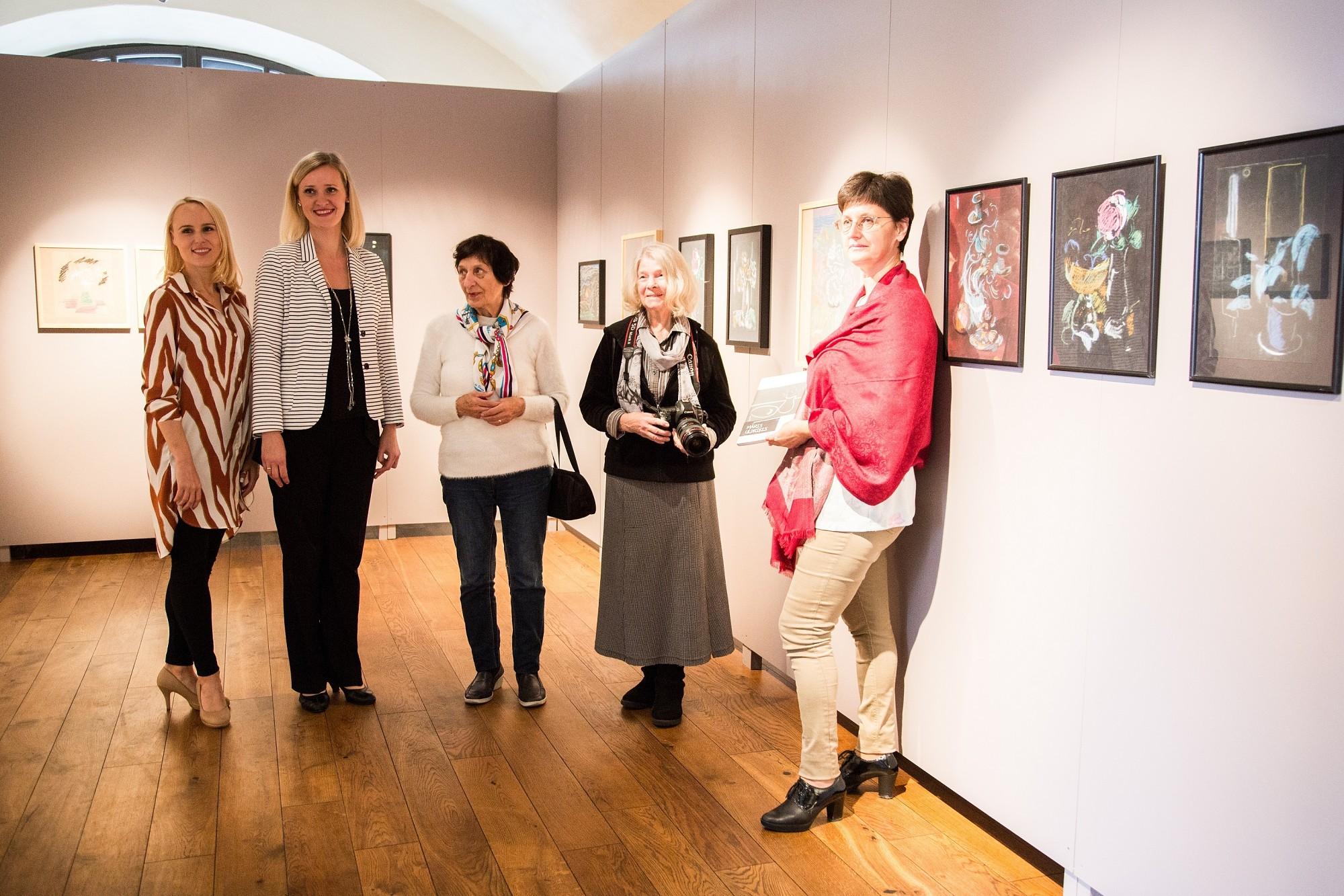 Daugavpils mākslas centrā atvērta Liepājas mākslinieka Māra Uldriķa izstāde