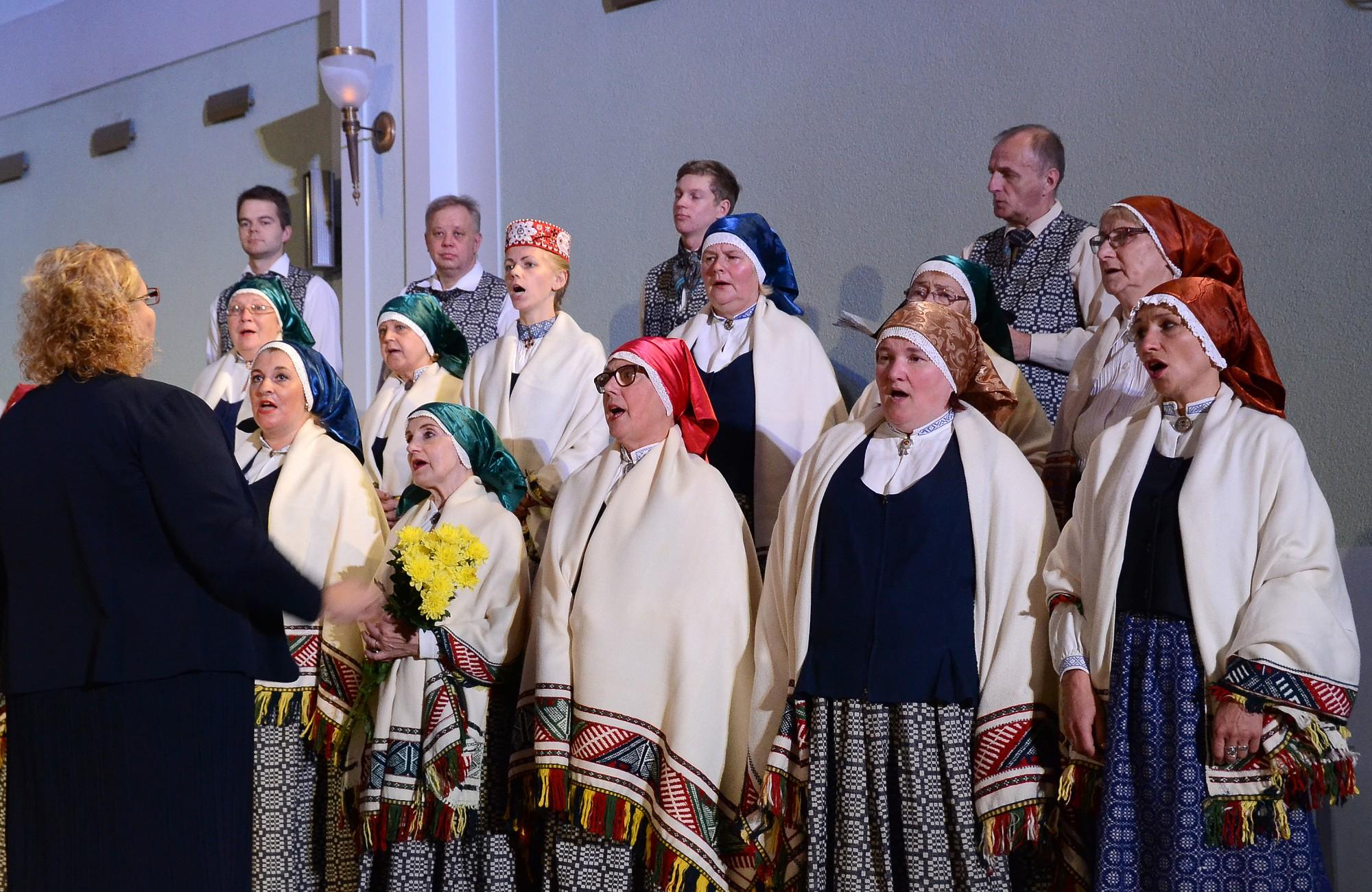 Liepājā pulcējas Latvijas kori, lai popularizētu tautasdziesmas