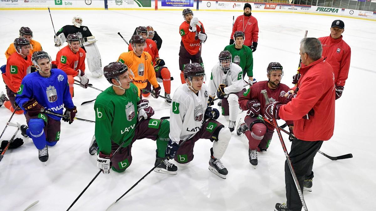 Liepājā pulcējas četru nāciju hokejisti