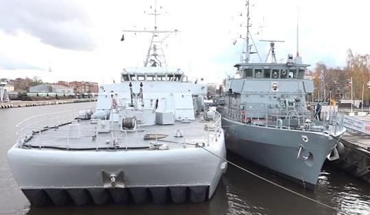 Liepājas ostā varēs apmeklēt NATO karakuģus