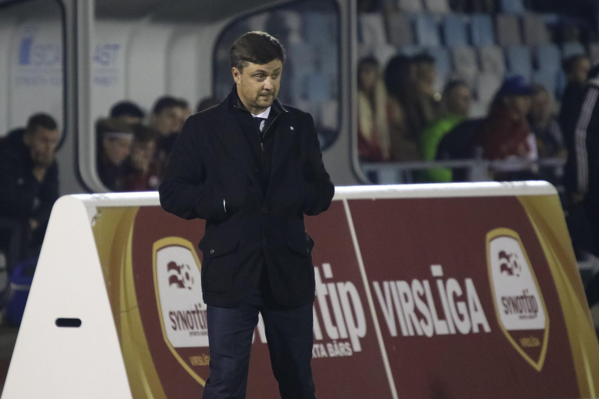 """""""Liepājas"""" jaunais treneris Andrejs Kaļiņins sola agresīvāku futbolu"""