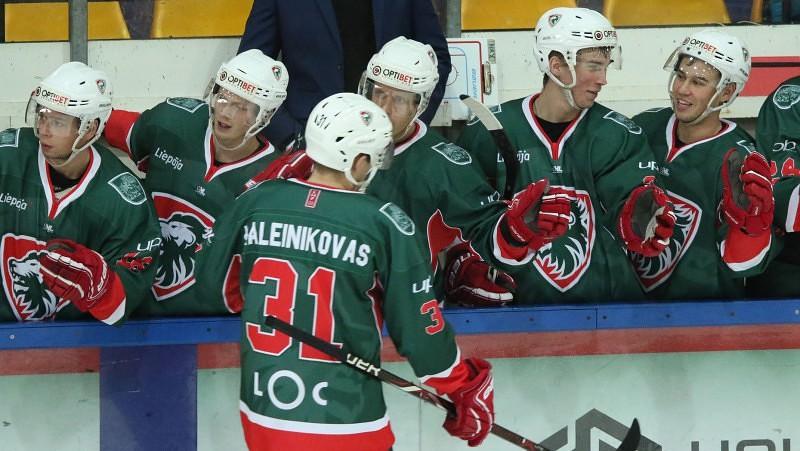"""Lietuvietim Kaļeiņikovam 2+3, """"Liepāja"""" izglābjas pēdējā minūtē"""