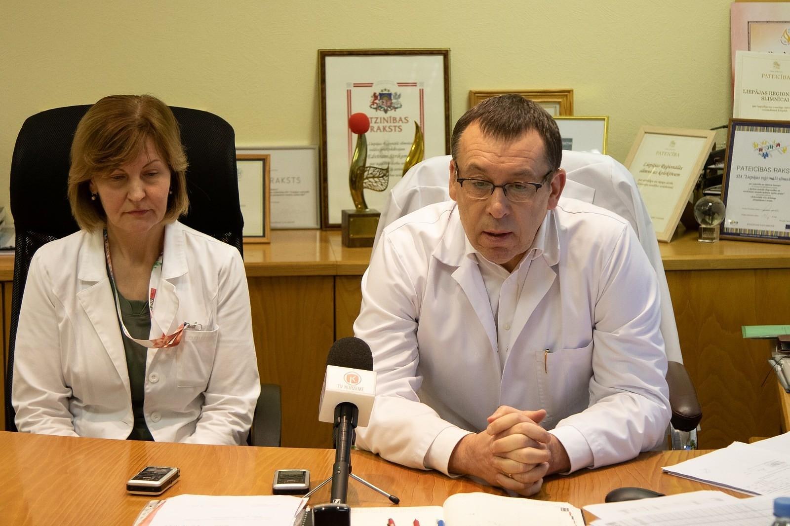 Liepājas slimnīca gatava pārņemt Onkoloģijas klīnikas pakalpojumus