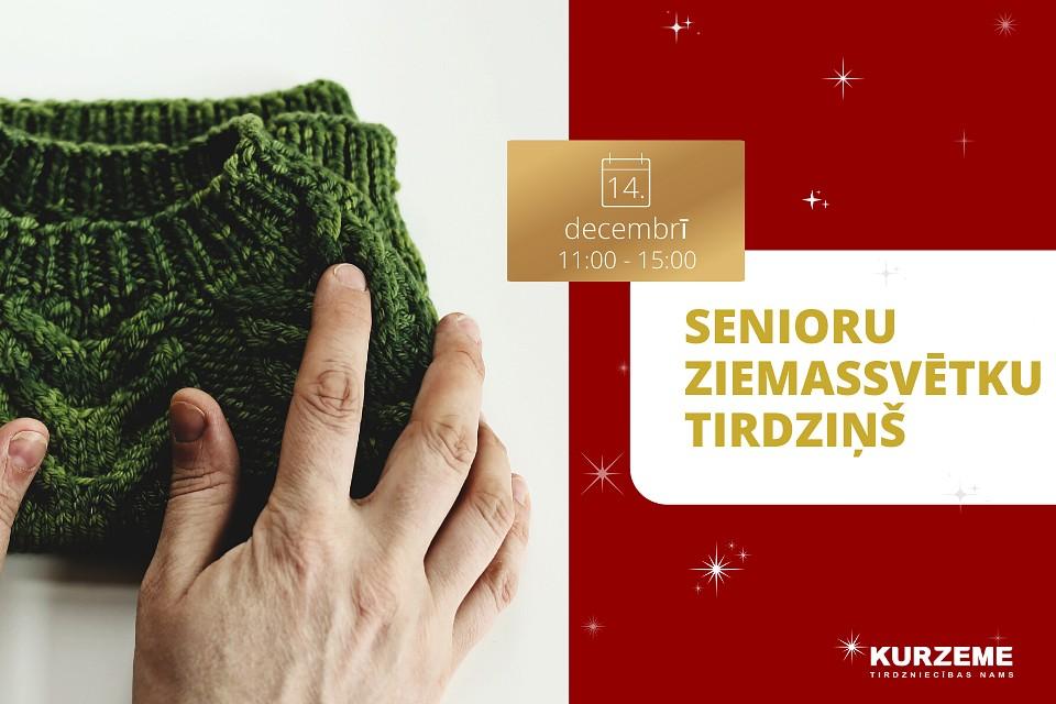 Sirdssiltas dāvanas Senioru Ziemassvētku tirdziņā