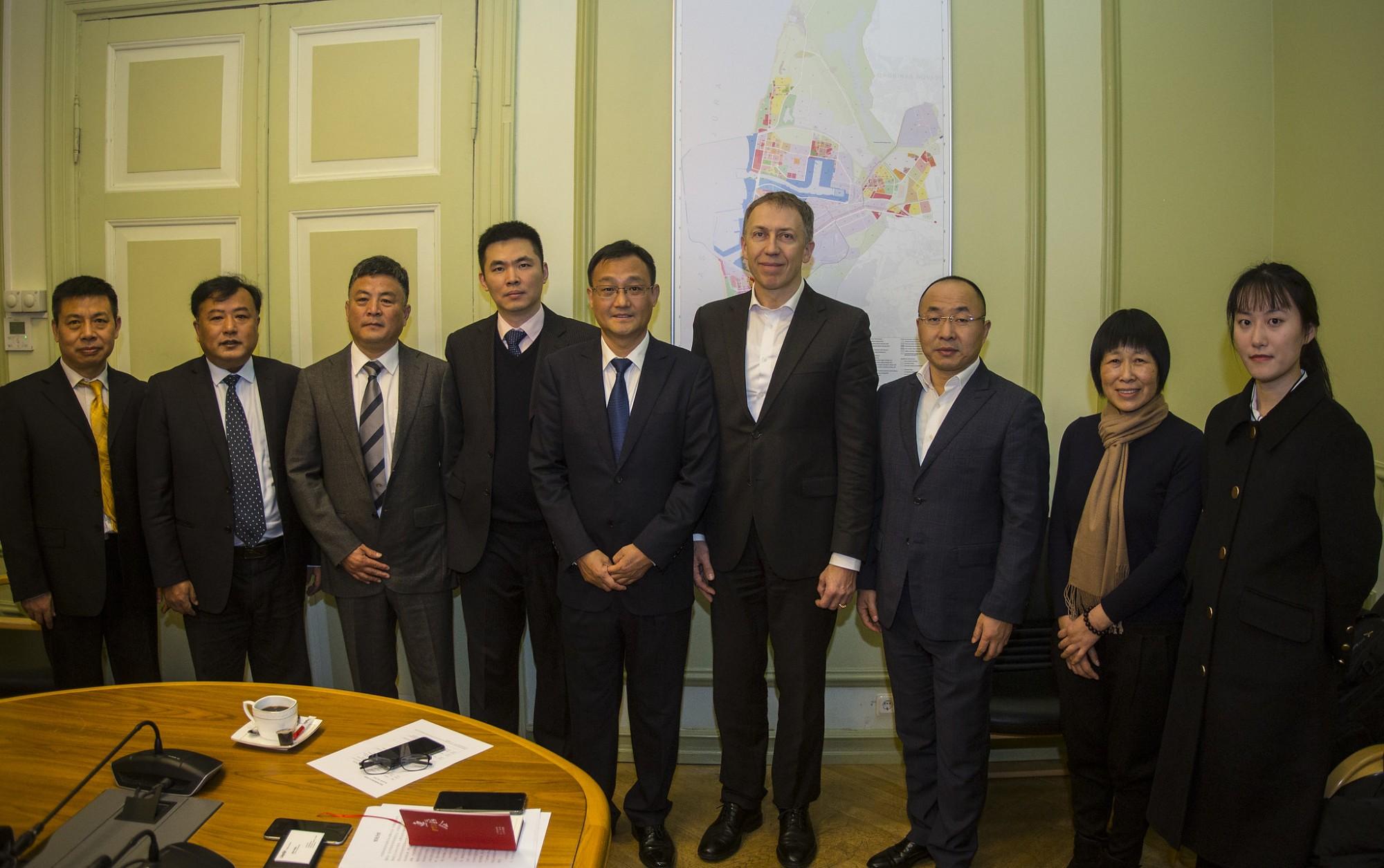 Liepājā darba vizītē ierodas Vuksi pašvaldības delegācija