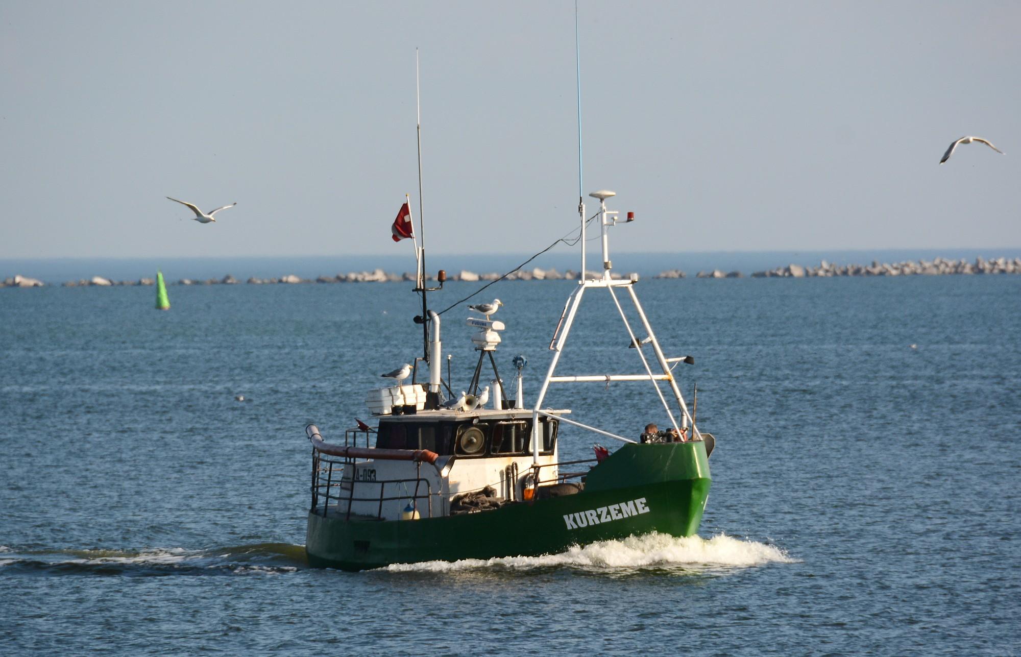 Nākamgad vairāku pilsētu un novadu jūras piekrastes ūdeņos paredzētas zvejas limitu izmaiņas