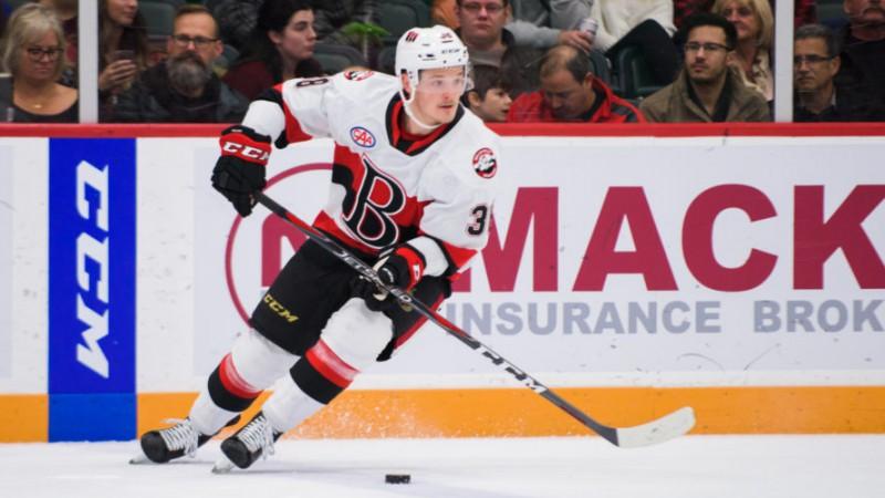 """Balceram noraidījums """"Senators"""" piektajā uzvarā pēdējās sešās AHL spēlēs"""