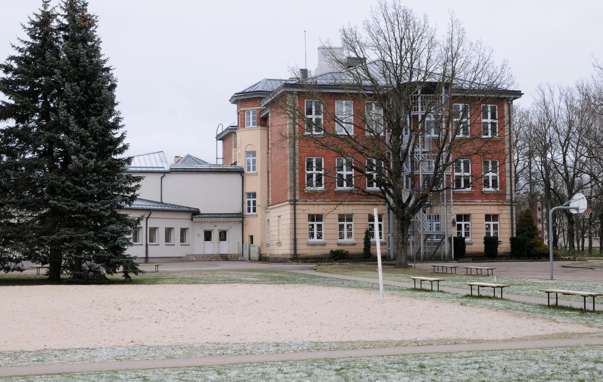 Situsi stunda eglēm pie Nīcas skolas
