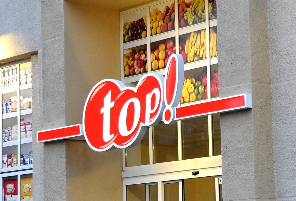 """Veikalu tīkla """"top!"""" apgrozījums pirmajā pusgadā pieaudzis par 11%"""