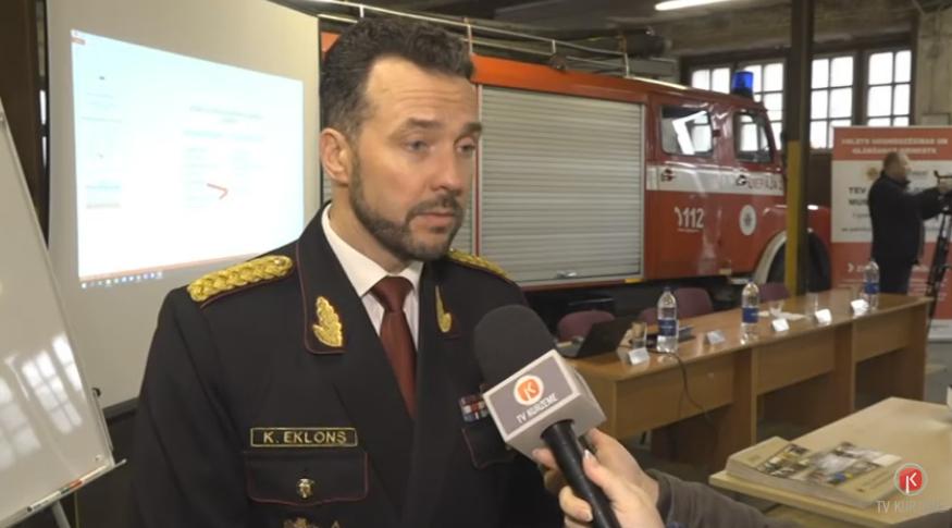 Jaunliepājas iedzīvotājus uztrauc vietējā ugunsdzēsēju depo slēgšana