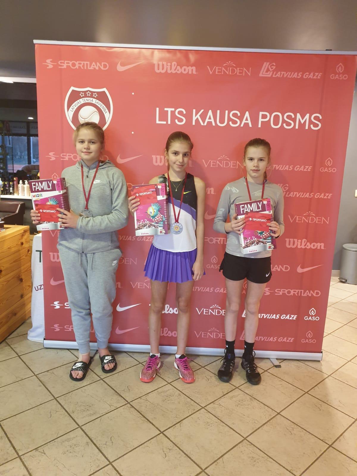 Marija Lauva LTS kausa posmā izcīna 2.vietu