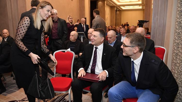 Raimonds Vējonis ievēlēts par LBS prezidentu