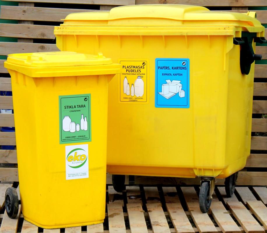 """Pērn par 25% palielinājies """"Eko Kurzeme"""" konteineros sašķiroto atkritumu apjoms"""