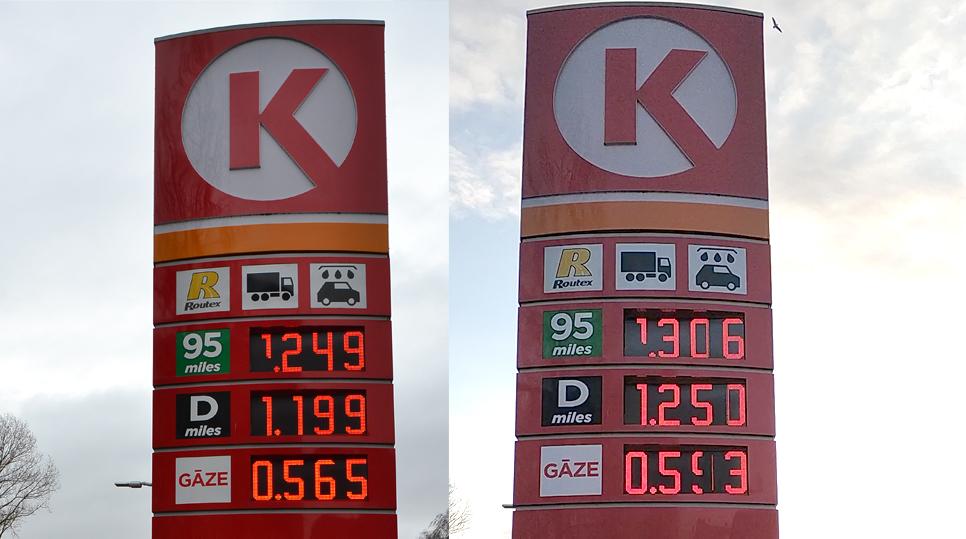 No šodienas par degvielu un tabaku maksājam dārgāk