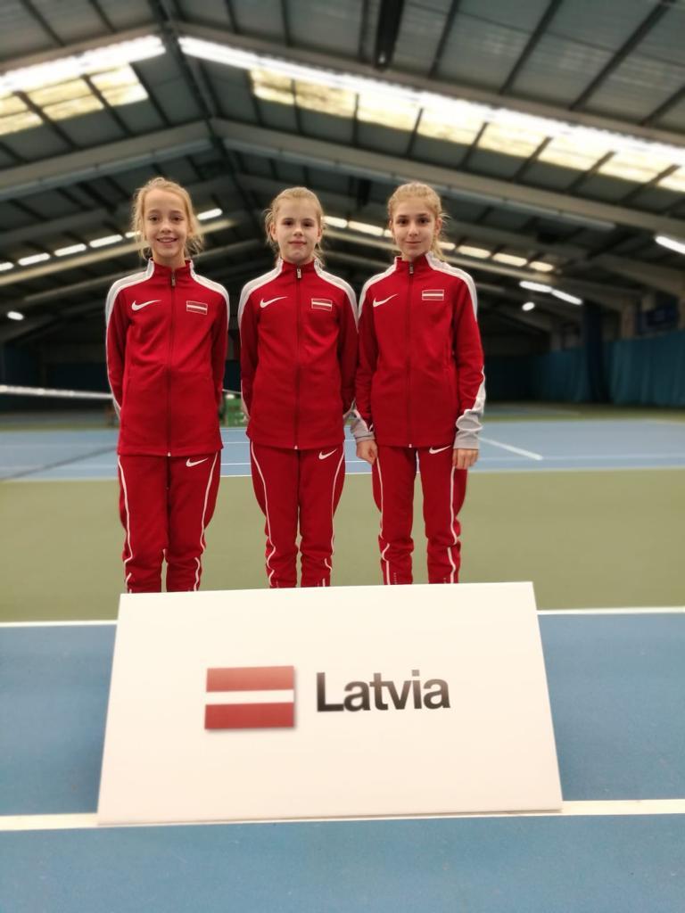 Marija Lauva Latvijas izlases sastāvā izcīna 7.vietu Eiropā