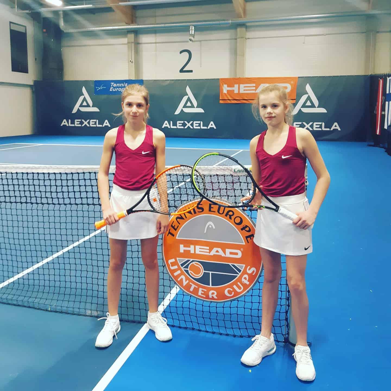 Liepājniece Marija Lauva tenisā pārstāv Latvijas izlasi un iekļūst finālturnīrā